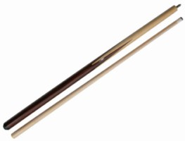 "57"" 2 Piece Hardwood Maple Sneaky Pete  Pool Cue Billiard Stick 21 oz"